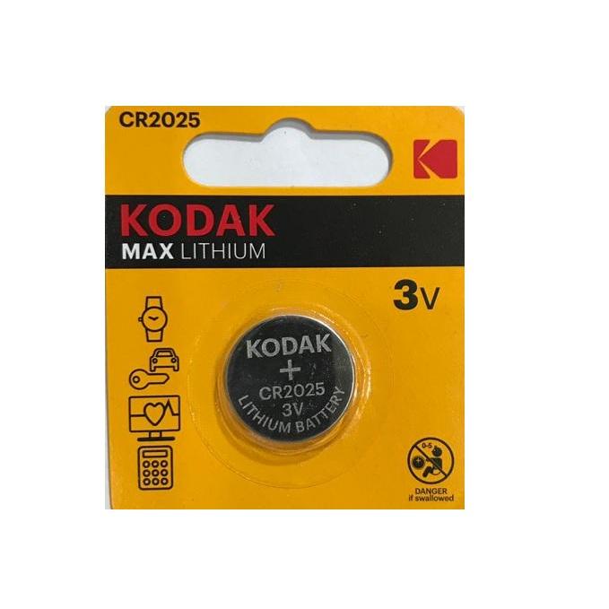 بررسی و {خرید با تخفیف}                                     باتری سکه ای کداک مدل MAX LITHIUM CR 2025                             اصل