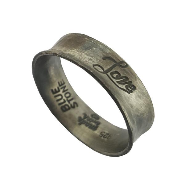 انگشتر نقره زنانه بلو استون کد 3981025