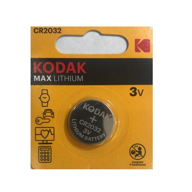 بررسی و {خرید با تخفیف}                                     باتری سکه ای کداک مدل MAX LITHIUM CR 2032                             اصل