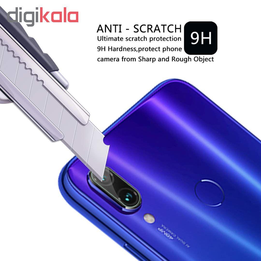 محافظ لنز دوربین تراستکتور مدل CLP مناسب برای گوشی موبایل شیائومی Redmi Note 7 / Redmi Note 7 Pro بسته 3 عددی main 1 3