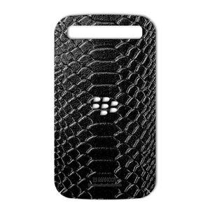 برچسب تزئینی ماهوت مدل Snake Leather مناسب برای گوشی  BlackBerry Classic-Q20