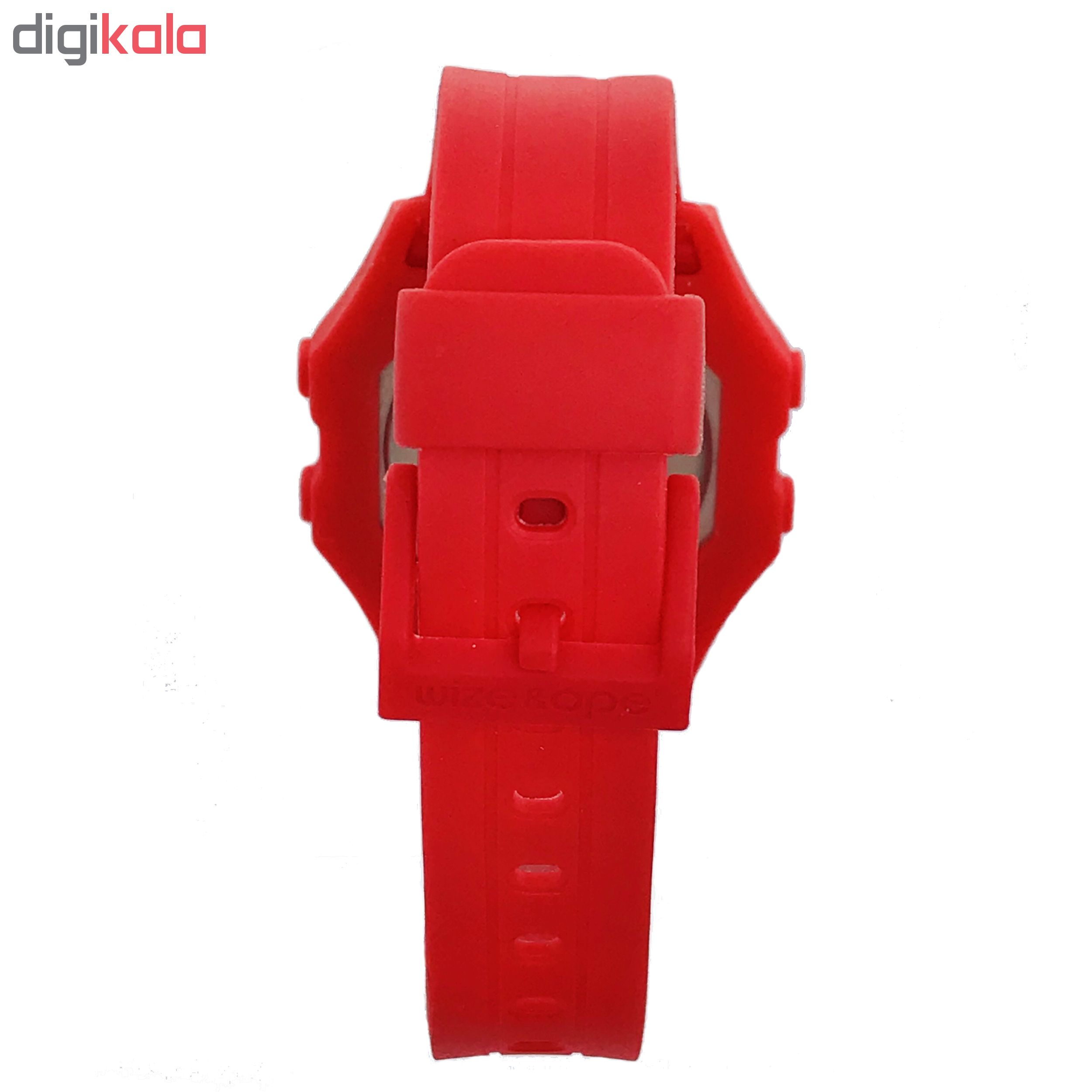 ساعت مچی دیجیتال زنانه وایز اند اپ مدل DT-3C