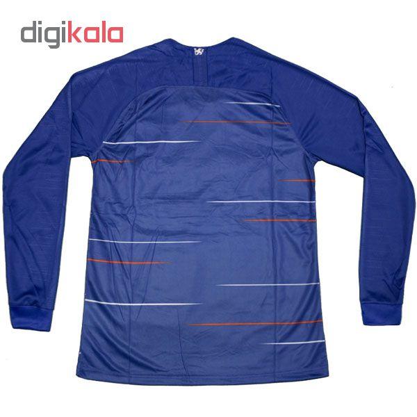 تی شرت ورزشی مردانه طرح چلسی مدل NM456 chp