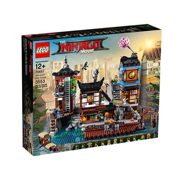 لگو سری Ninjago مدل City Docks کد 70657