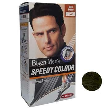 کیت رنگ مو بیگن سری Speedy Colour شماره 103 حجم 40 میلی لیتر رنگ قهوه ای تیره