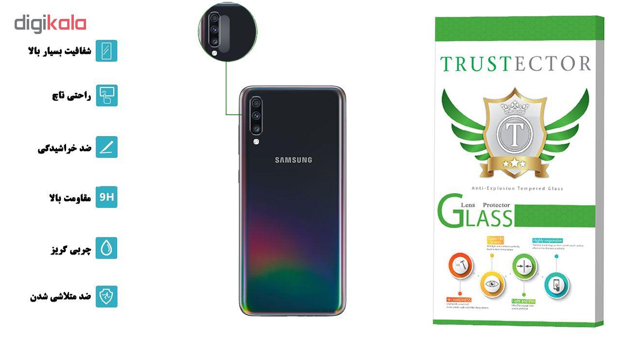 محافظ لنز دوربین تراستکتور مدل CLP مناسب برای گوشی موبایل سامسونگ Galaxy A70 main 1 2