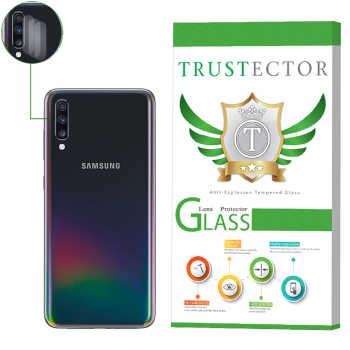 محافظ لنز دوربین تراستکتور مدل CLP مناسب برای گوشی موبایل سامسونگ Galaxy A70 بسته 3 عددی