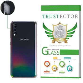 محافظ لنز دوربین تراستکتور مدل CLP مناسب برای گوشی موبایل سامسونگ Galaxy A70 بسته 5 عددی