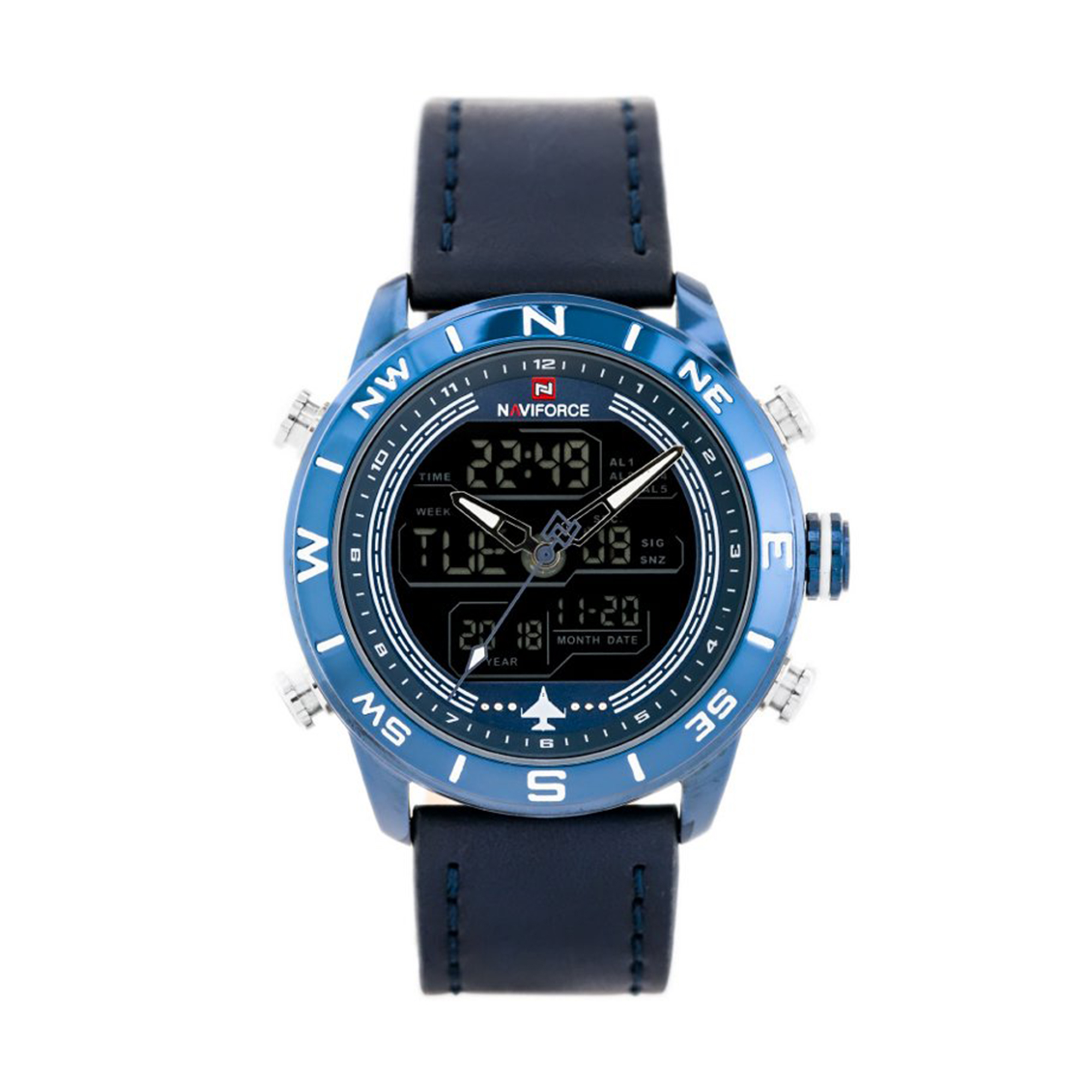 ساعت مچی دیجیتال مردانه نیوی فورس مدل NF9144 BEBEBE