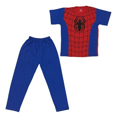 ست تی شرت و شلوار پسرانه طرح مرد عنکبوتی