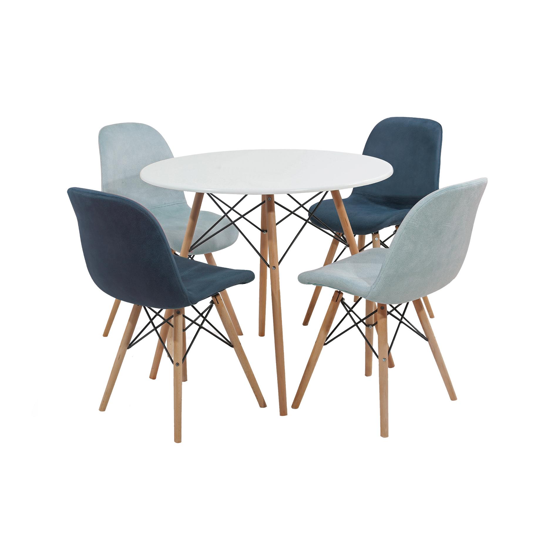 میز و صندلی ناهار خوری مدل Romina_01