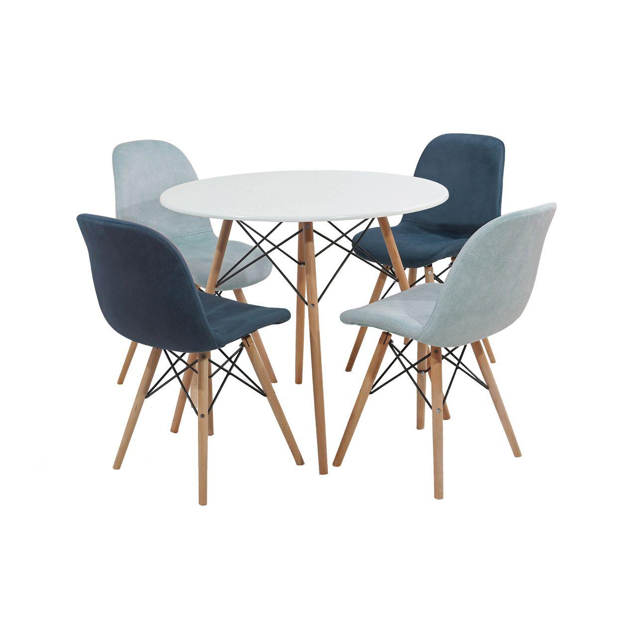 میز و صندلی ناهار خوری مدل Romina-01
