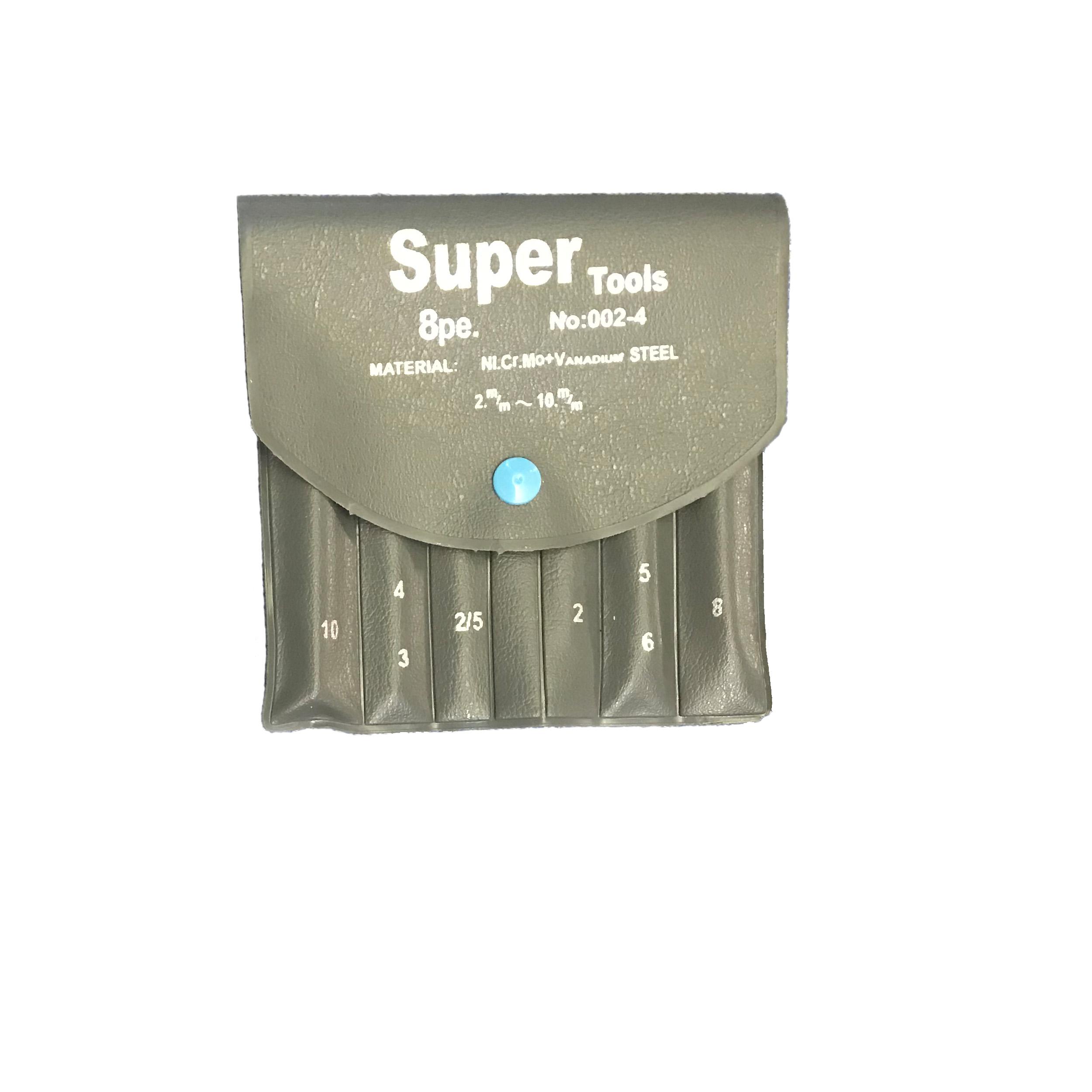 مجموعه 8 عددی آچار آلن سوپرتولز مدل QR-X1