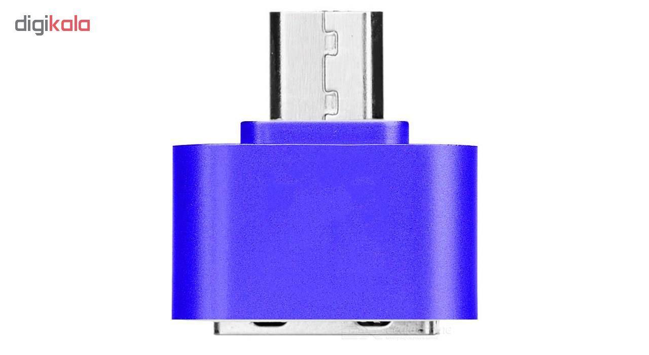 مبدل microUSB به USB مدل DST-O8 بسته 8 عددی main 1 2
