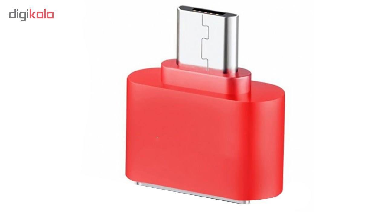مبدل microUSB به USB مدل DST-O8 بسته 8 عددی main 1 4