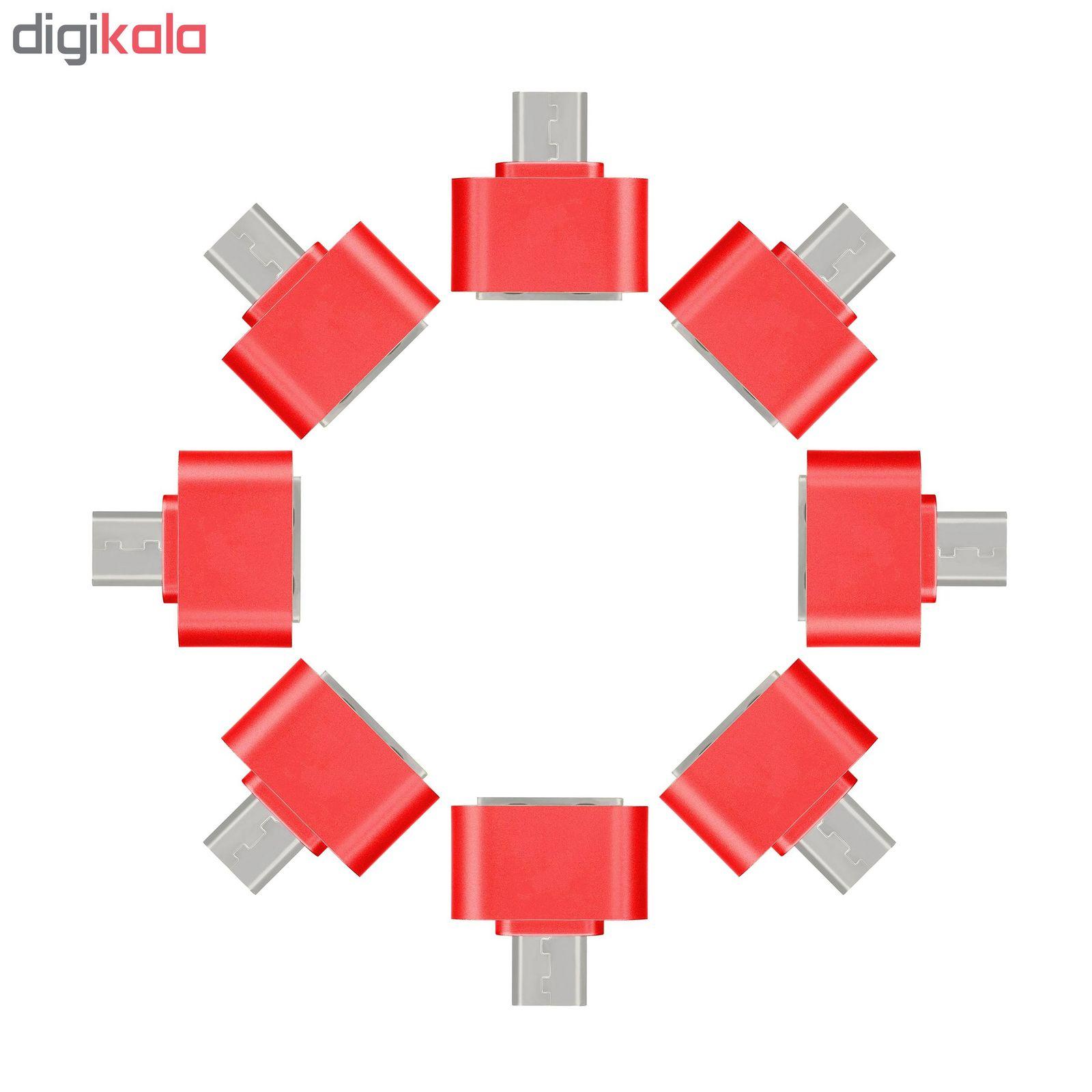 مبدل microUSB به USB مدل DST-O8 بسته 8 عددی main 1 7