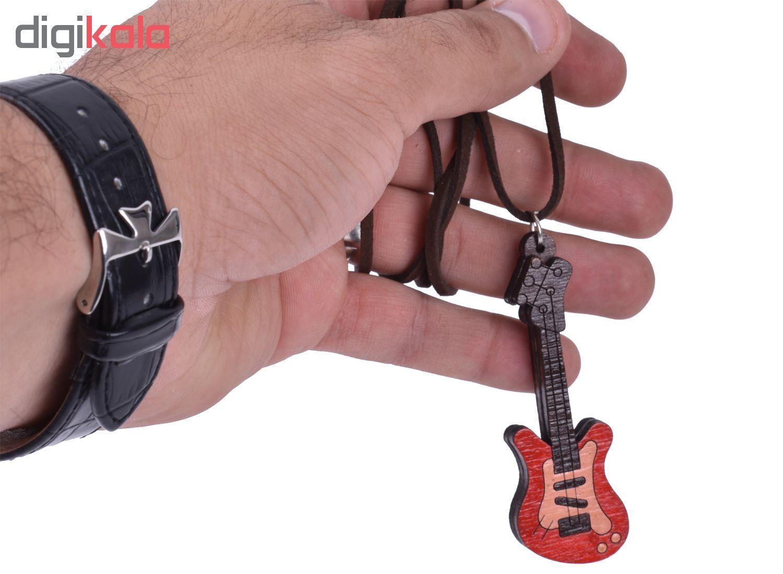 گردنبند طرح گیتار کد 12 main 1 2