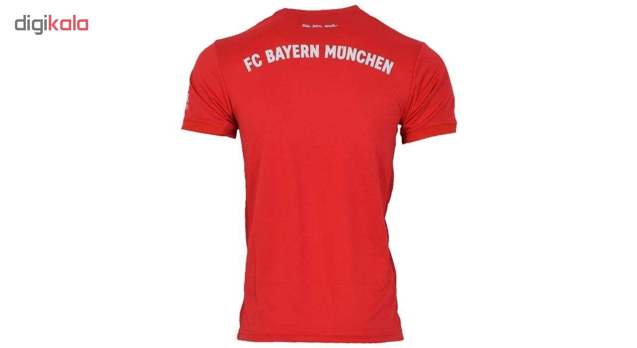 تی شرت ورزشی مردانه طرح بایرن مونیخ مدل 2020-2019 کد 01 home