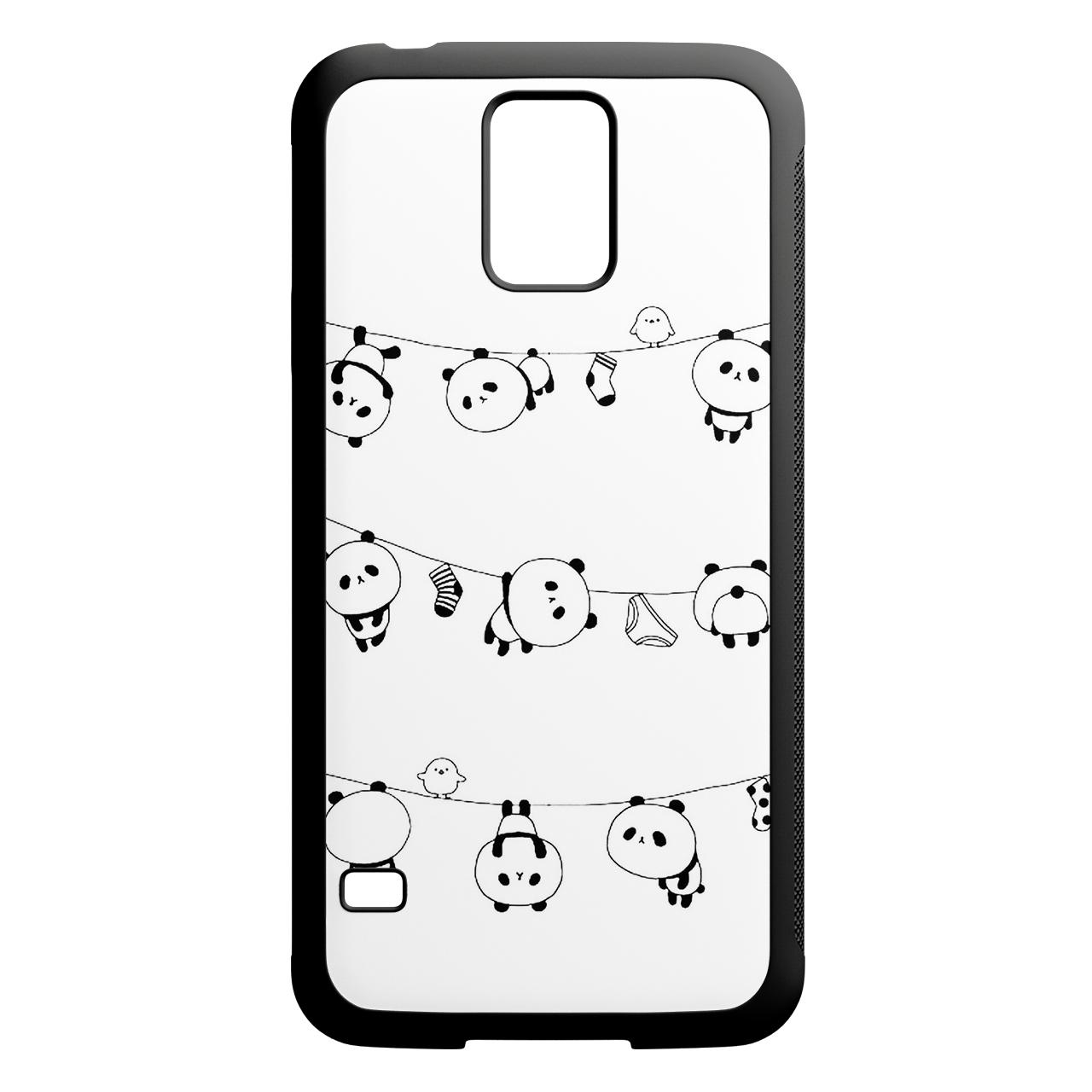 کاور طرح پاندا کد 1105409127 مناسب برای گوشی موبایل سامسونگ galaxy s5
