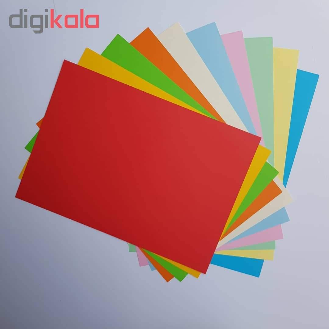 کاغذ رنگی A4 مدل کالرفول کد S10 بسته ۱۰۰ عددی main 1 4