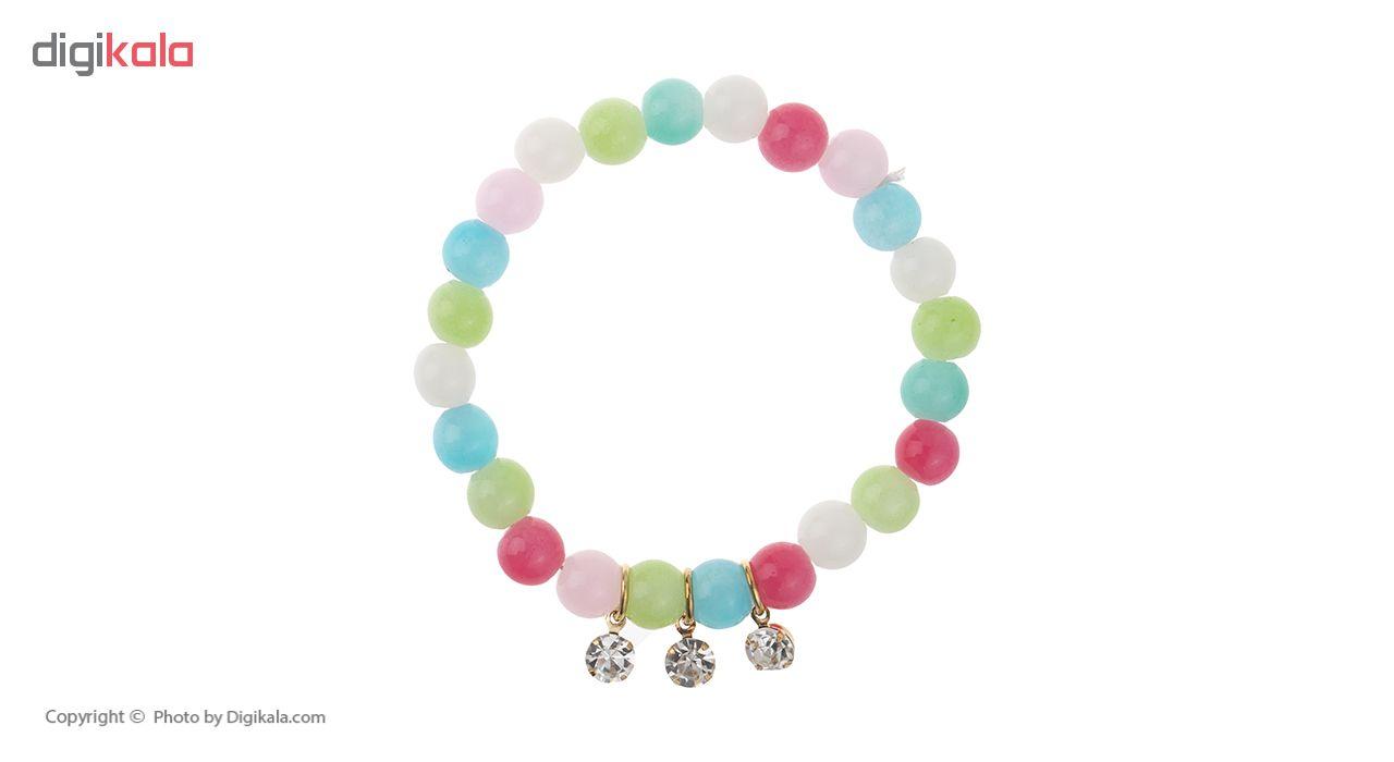 دستبند زنانه مدل شایسته کد 50 مجموعه 7 عددی