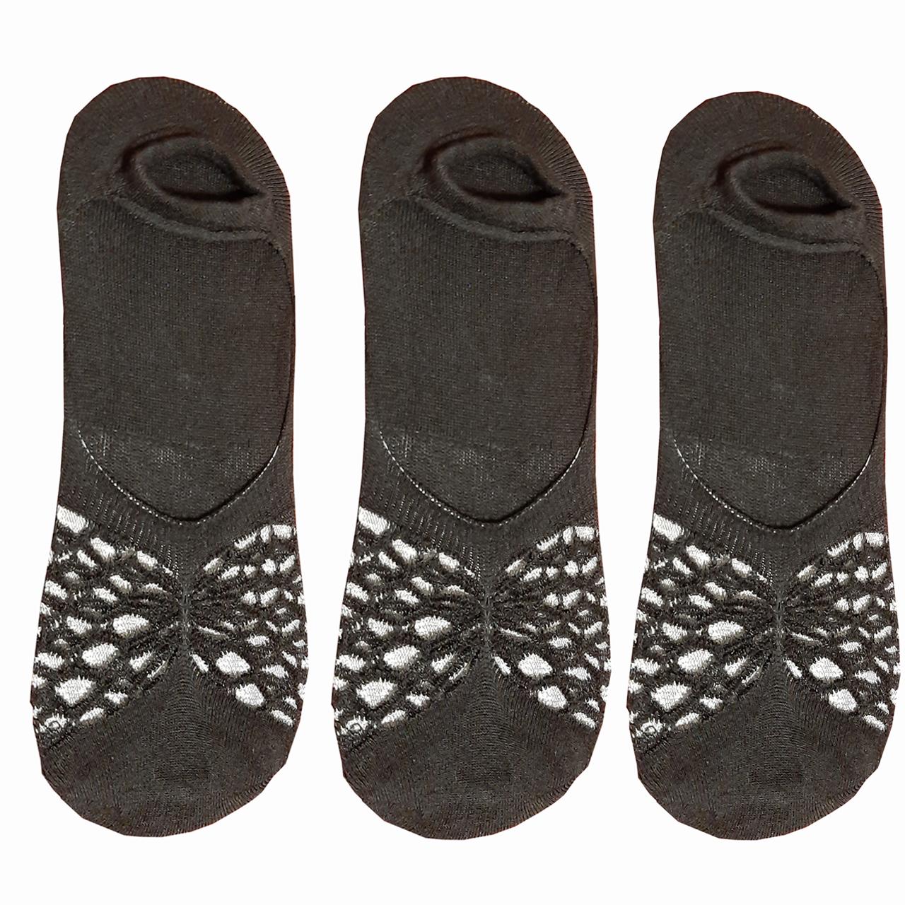 جوراب زنانه کد 8 بسته 3 عددی
