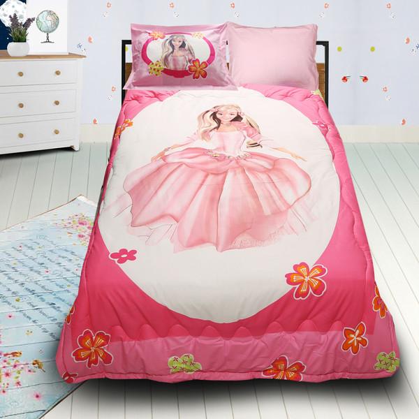 سرویس خواب مدل Barbi یک نفره 4 تکه