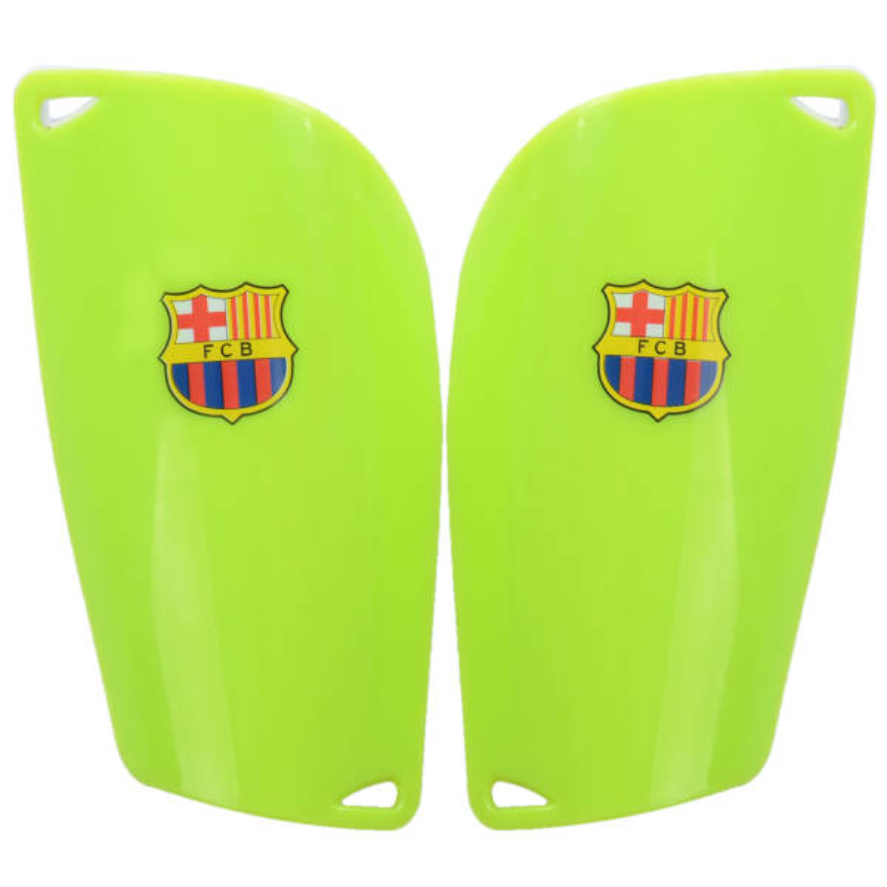 ساق بند فوتبال طرح بارسلونا مدل KFU بسته 2 عددی