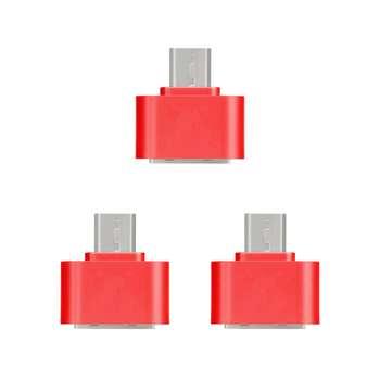مبدل microUSB به USB مدل DST-O3 بسته 3 عددی