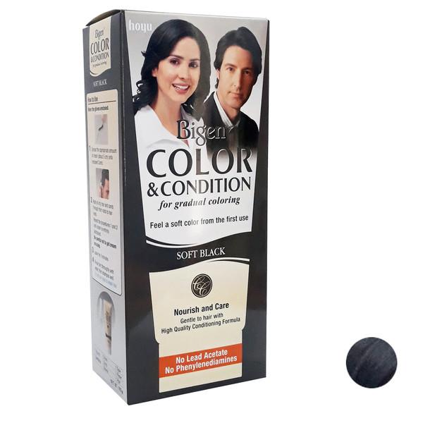 کیت رنگ مو بیگن سری Soft Black حجم 180 میلی لیتر رنگ دودی
