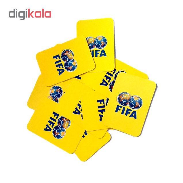 بازی فکری طرح فوتبال مدل FIFA Org بسته ۱۶ عددی