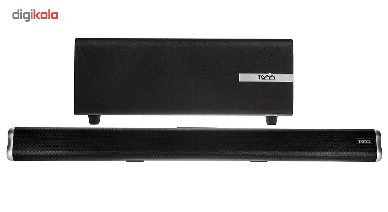 خرید اینترنتی ساندبار تسکو مدل TS-2020 با توان خروجی 65 وات اورجینال