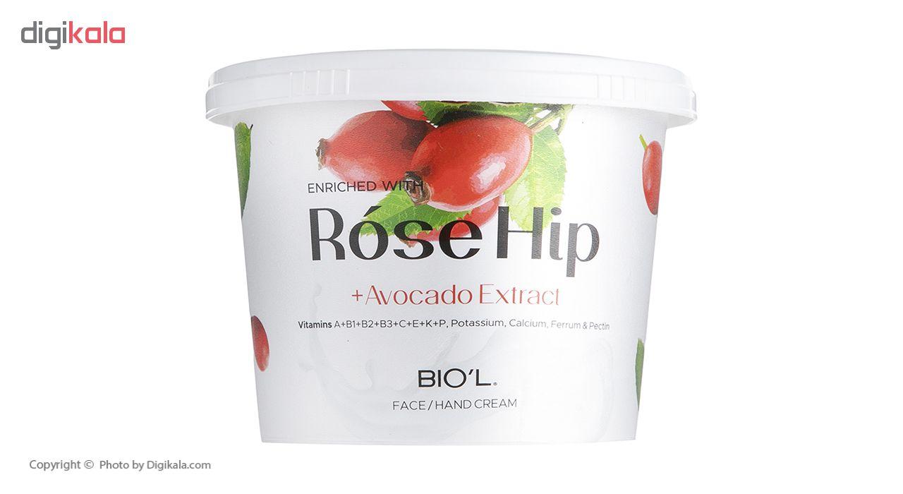 کرم دست و صورت بیول مدل Rose Hip حجم 250 میلی لیتر