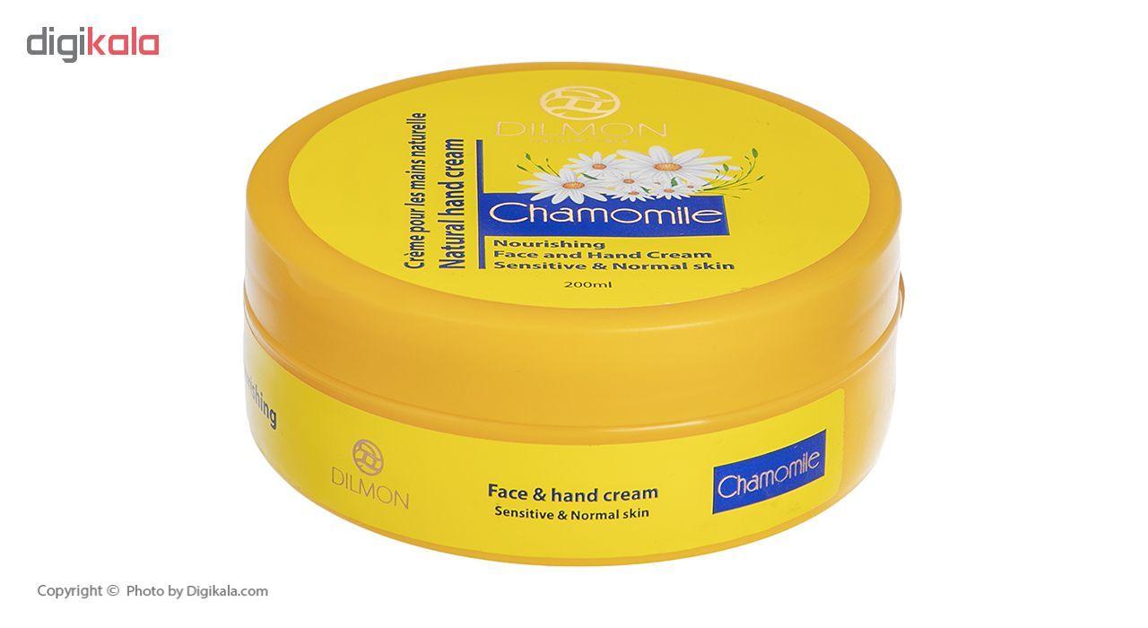 کرم مرطوب کننده دست و صورت دیلمون مدل Chamomile Extract حجم 200 میلی لیتر main 1 1
