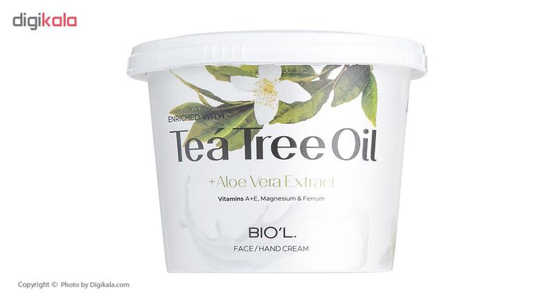کرم دست و صورت بیول مدل Tea Tree Oil حجم 250 میلی لیتر