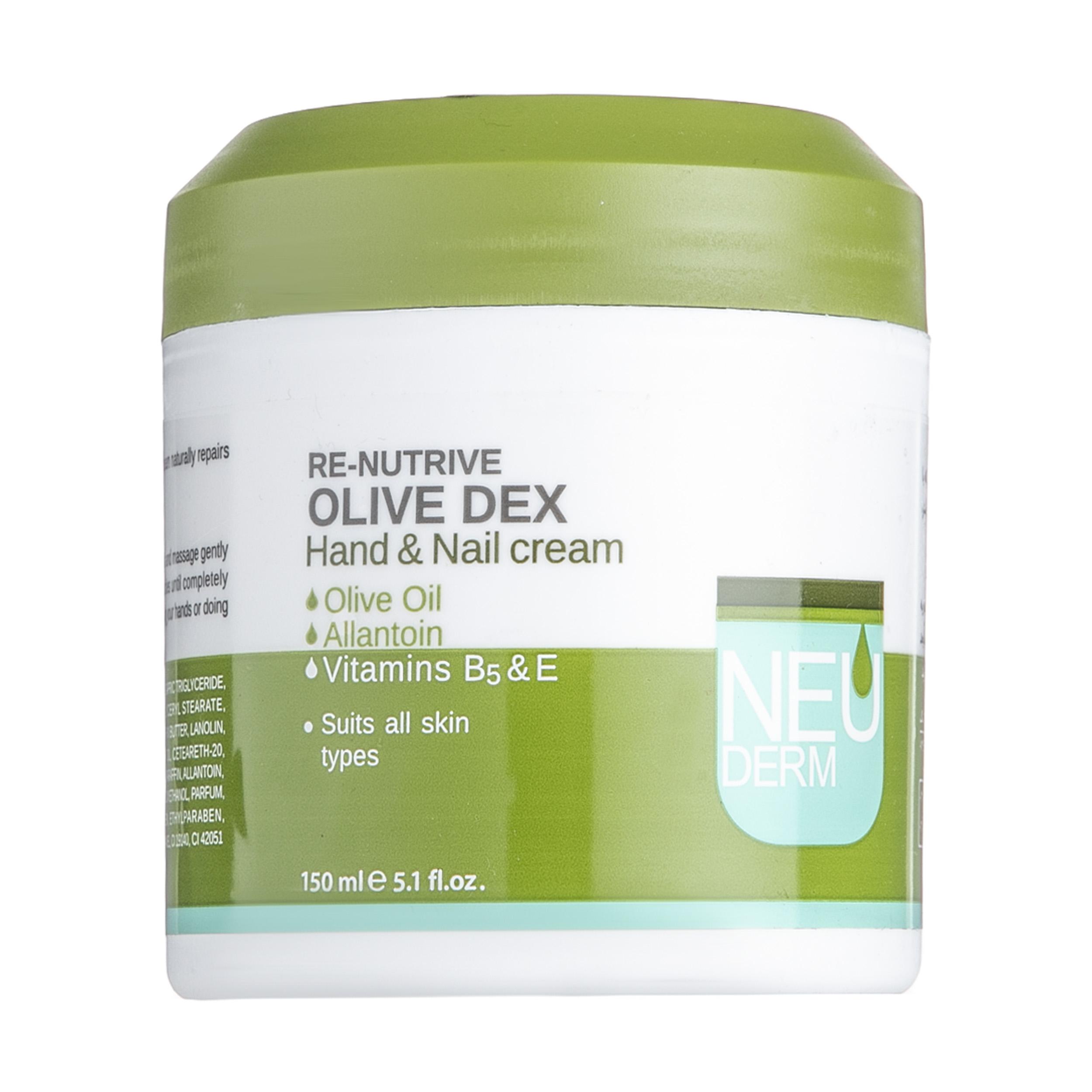 کرم دست و ناخن نئودرم مدل Olive Dex حجم 150 میلی لیتر
