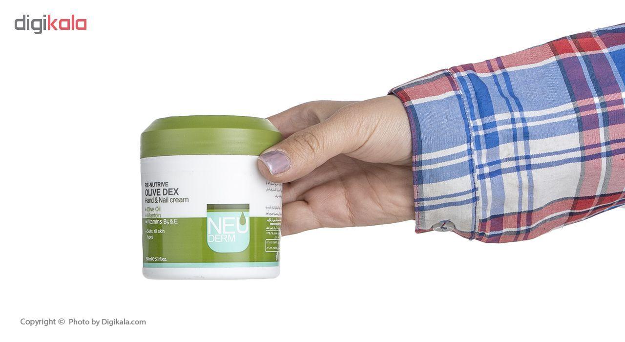 کرم دست و ناخن نئودرم مدل Olive Dex حجم 150 میلی لیتر main 1 3