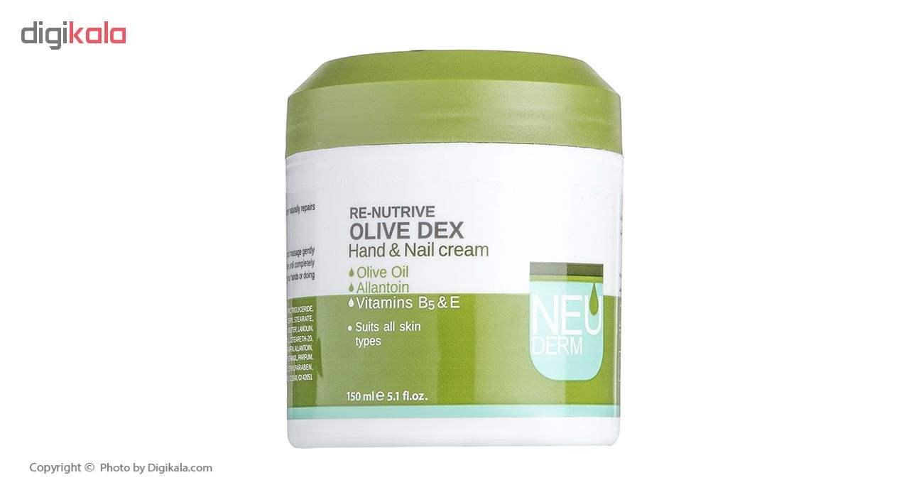 کرم دست و ناخن نئودرم مدل Olive Dex حجم 150 میلی لیتر main 1 1