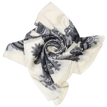 روسری زنانه طرح بته جقه کد 286000629