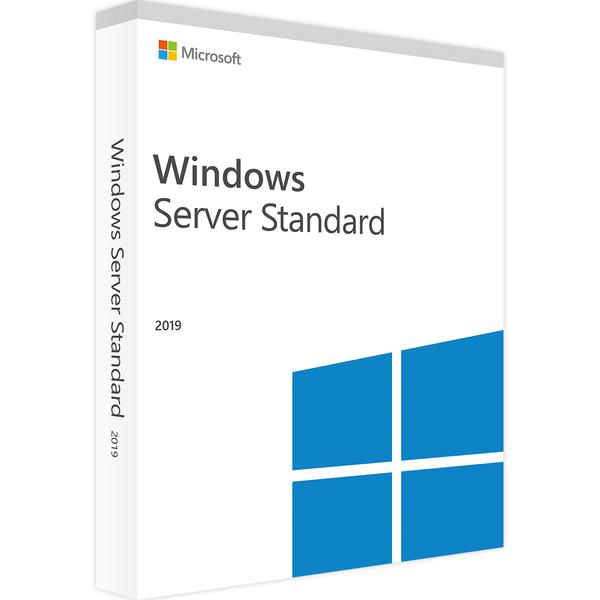 سیستم عامل ویندوز سرور مایکروسافت نسخه Standard 2019