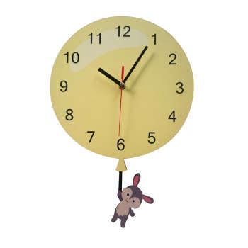 ساعت دیواری ژیوار مدل Rabbit and Balloon