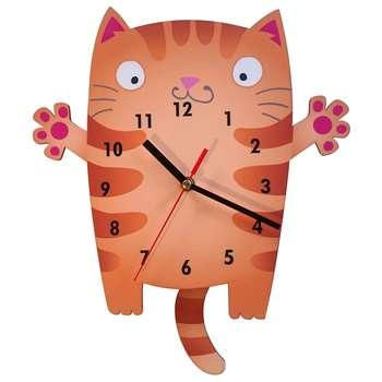 ساعت دیواری ژیوار مدل Cute Cat