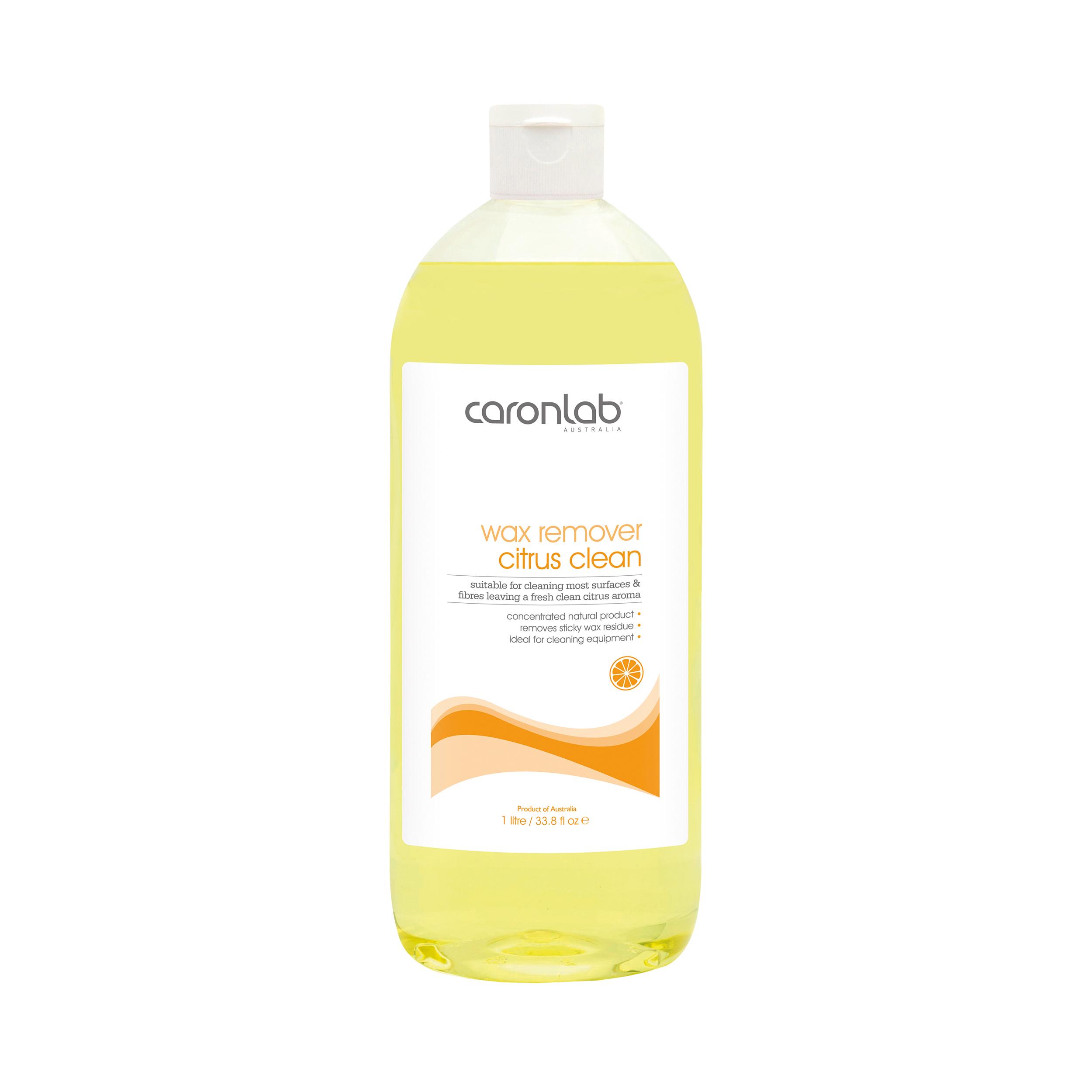 خرید                      محلول پاک کننده موم وکس کارنلب دل Citrus Clean حجم 1000 میلی لیتر              ✅
