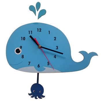 ساعت دیواری ژیوار مدل Little whale
