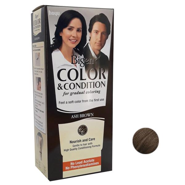 کیت رنگ مو بیگن سری Ash Brown حجم 180 میلی لیتر رنگ قهوه ای خاکستری