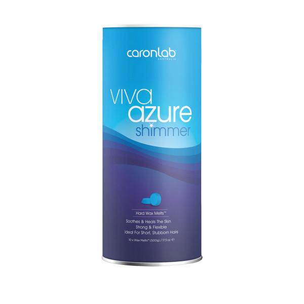 موم وکس صورت کارونلب مدل Viva Azure حجم 500 میلی لیتر