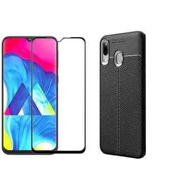 کاور مورفی مدل LM7 مناسب برای گوشی موبایل سامسونگ Galaxy M20 به همراه محافظ صفحه نمایش