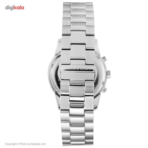 ساعت مچی عقربه ای زنانه رومانسون مدل RM6A01HLWWA4R5              ارزان