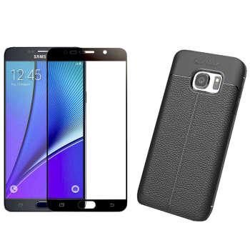 کاور مورفی مدل LM7 مناسب برای گوشی موبایل سامسونگ Galaxy Note 5 به همراه محافظ صفحه نمایش