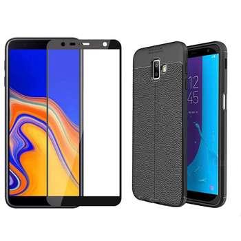 کاور مورفی مدل LM7 مناسب برای گوشی موبایل سامسونگ Galaxy J6 Plus به همراه محافظ صفحه نمایش